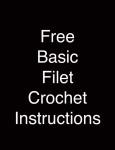Basic Filet Crochet Instructions